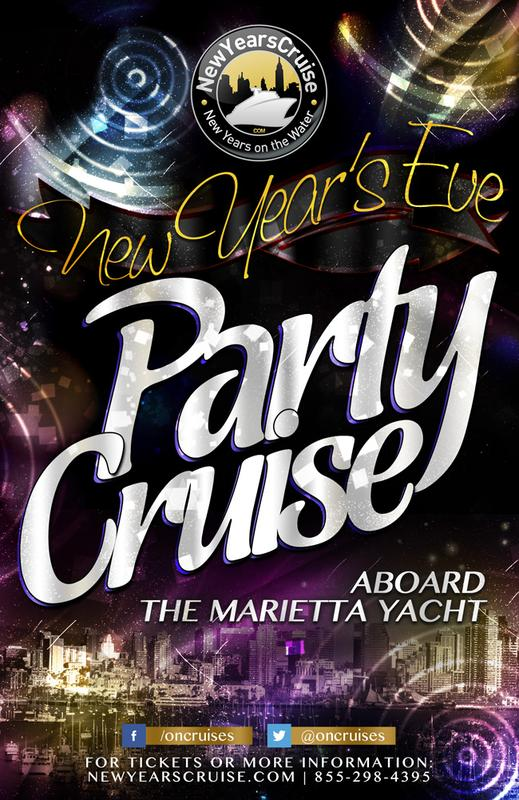 New Year's Eve Party Cruise Aboard the Marietta Yacht