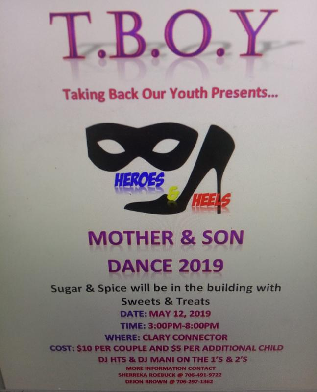 T.B.O.Y Presents Heros & Heels Mother's Day Ball