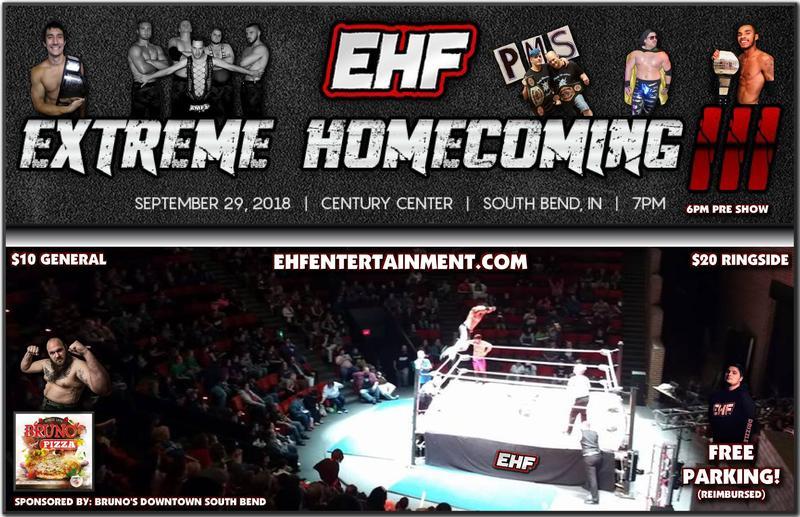 EHF Extreme Homecoming III