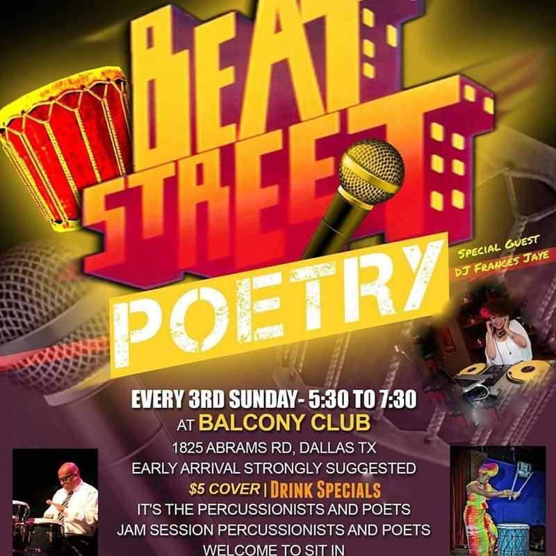 Beat Street Poetry Guaranteed Seating and VIP
