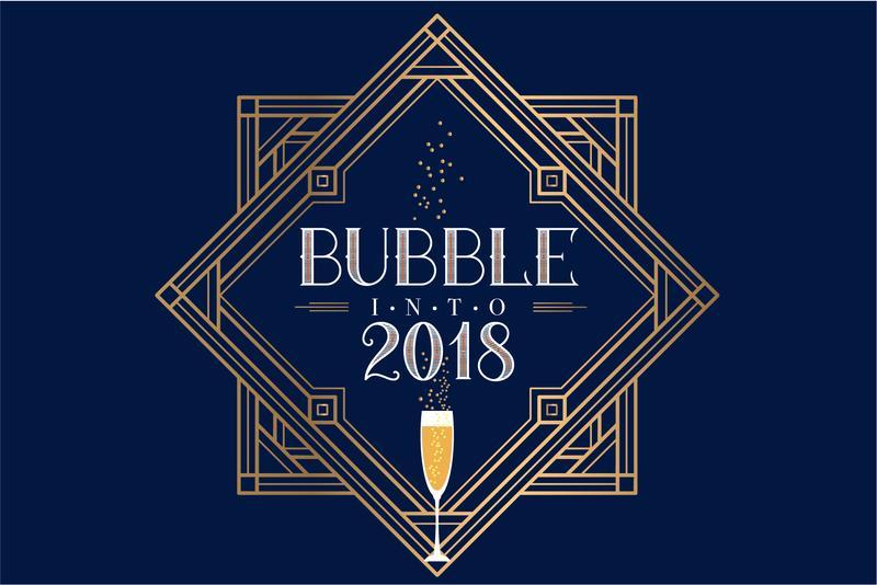 Bubble into 2018 at The Republic on Grand!