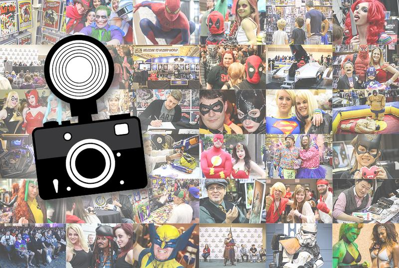 Photo Ops @ Austin Comic Con 2014 (Limit 2 People Per Photo) **CHECK PHOTO OPS SCHEDULE FOR TIMES**