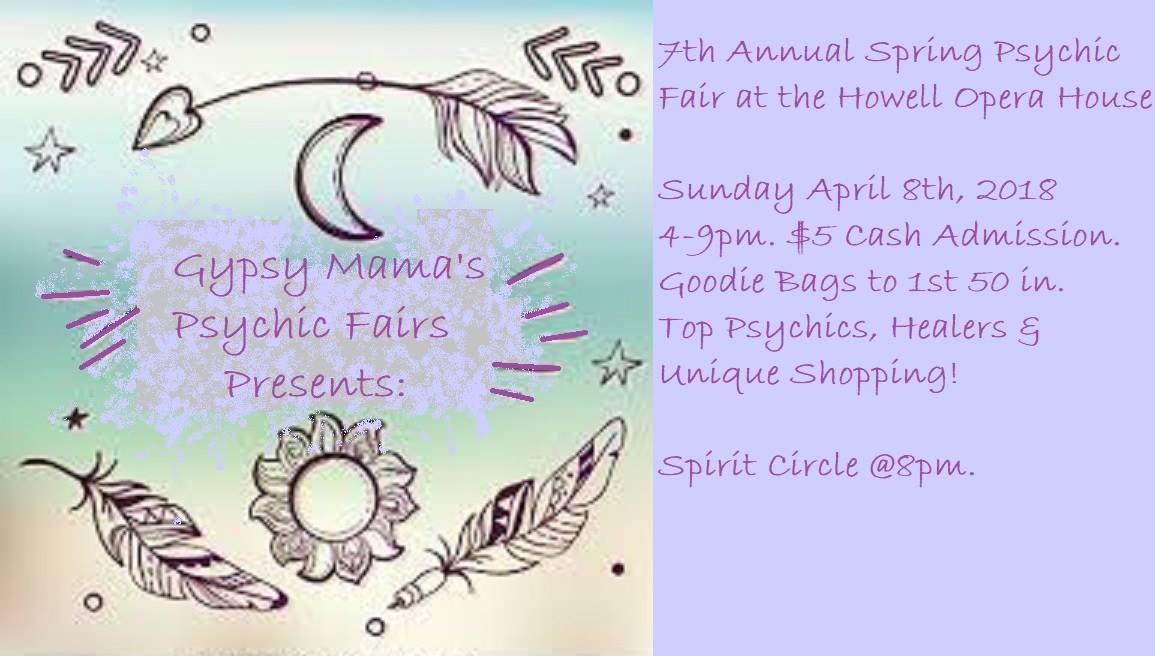 Gypsy Mama's Psychic Fairs Tickets