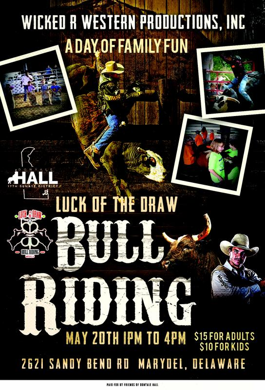 Luck of the Draw Bull Riding