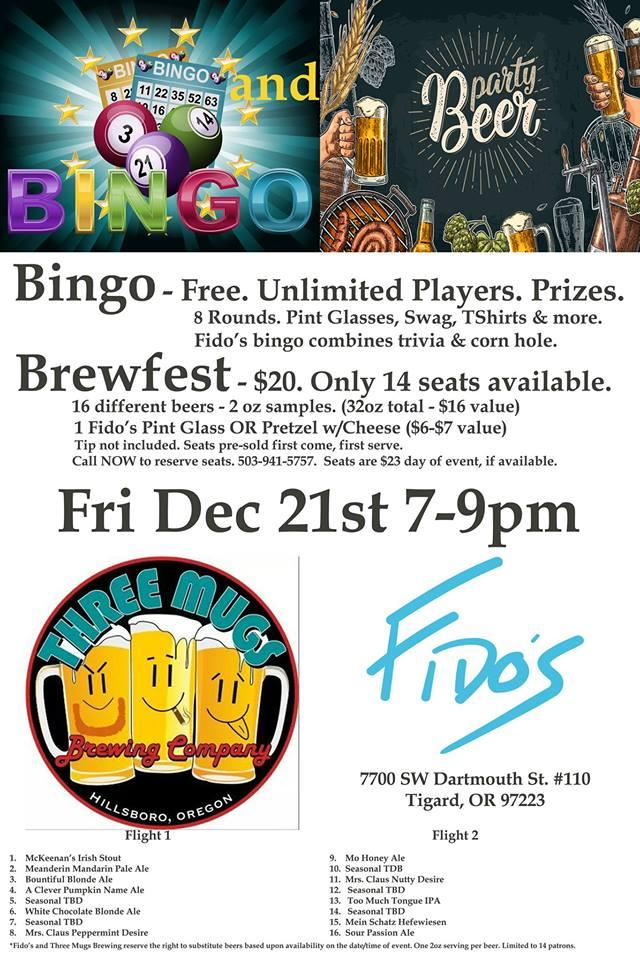 Bingo Dartmouth
