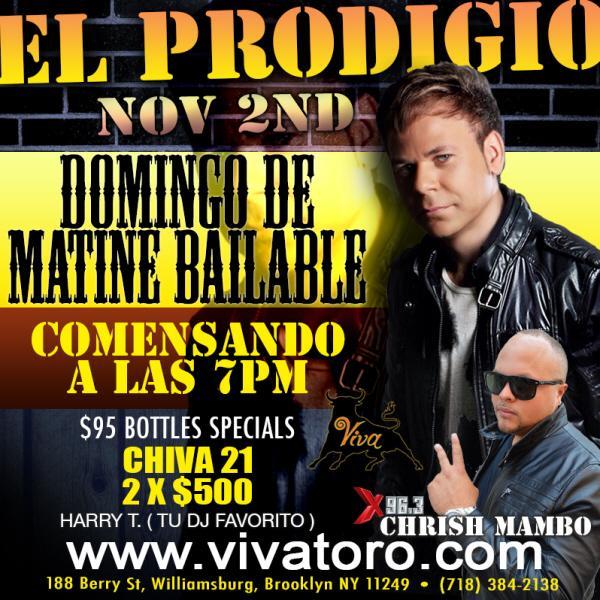 EL PRODIGIO LIVE AT VIVA TORO