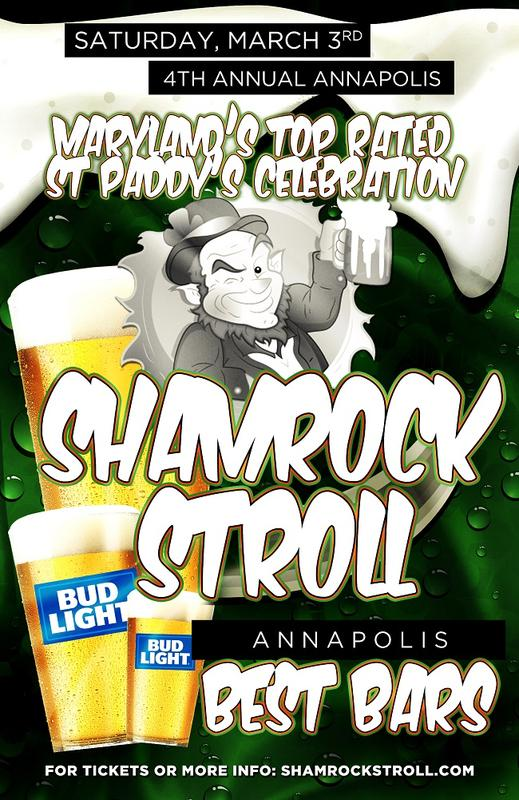 Shamrock Stroll St Paddy's Annapolis
