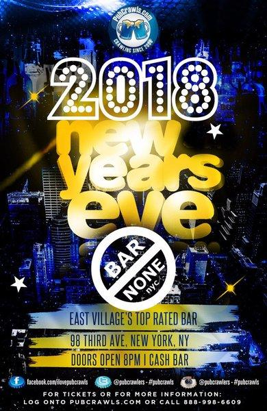 Bar None New Year's Eve 2018