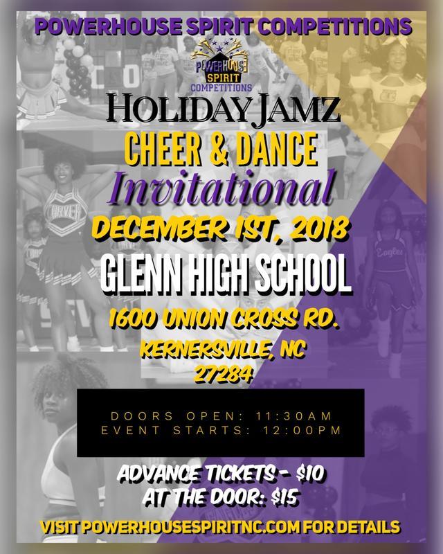 Holiday Jamz Cheer & Dance Invitational 2018