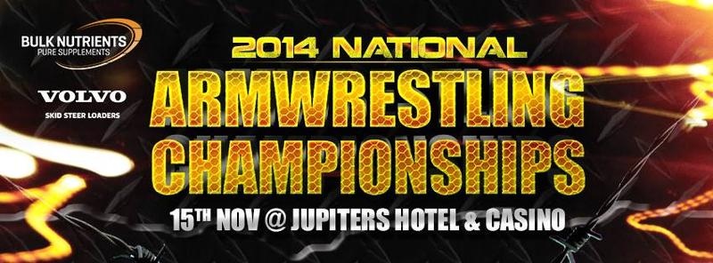 2014 National Armwrestling Championship @ Jupiters Casino