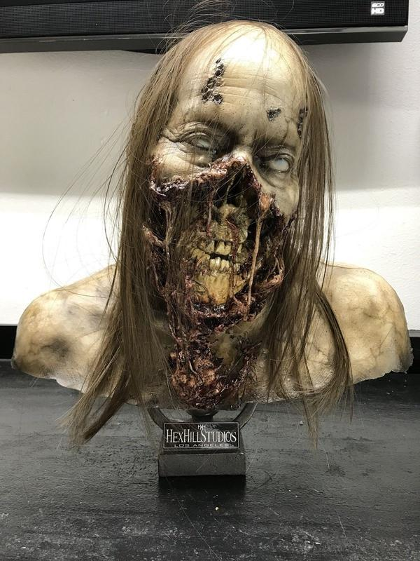 Scares That Care! Lifesize Zombie Head Raffle