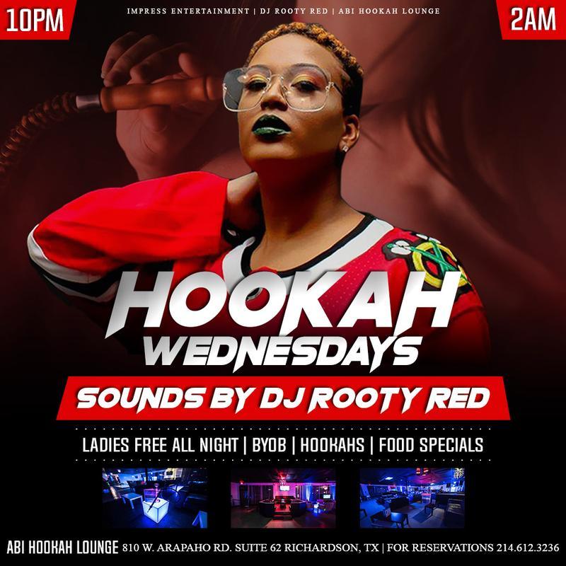 HOOKAH WEDNESDAYS @ ABI HOOKAH LOUNGE