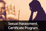 Sexual Harassment Certificate Program for HR Professionals