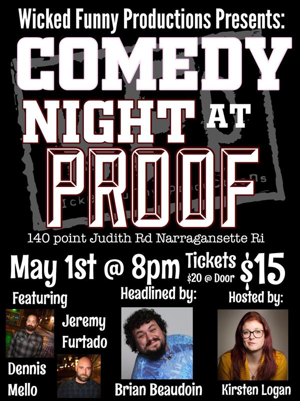 Comedy Night at Proof