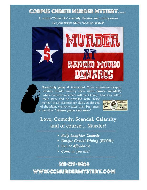 Corpus Christi Murder Mystery Dinner n' Show