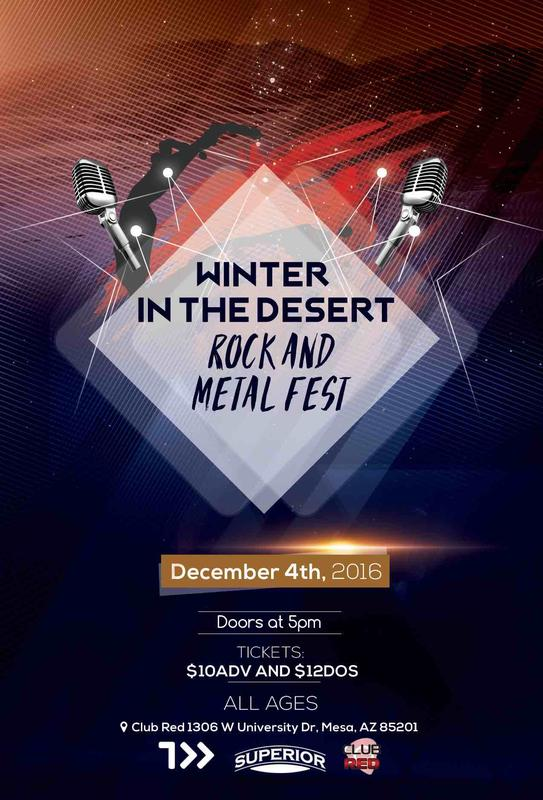Winter In The Desert (Rock and Metal Fest)