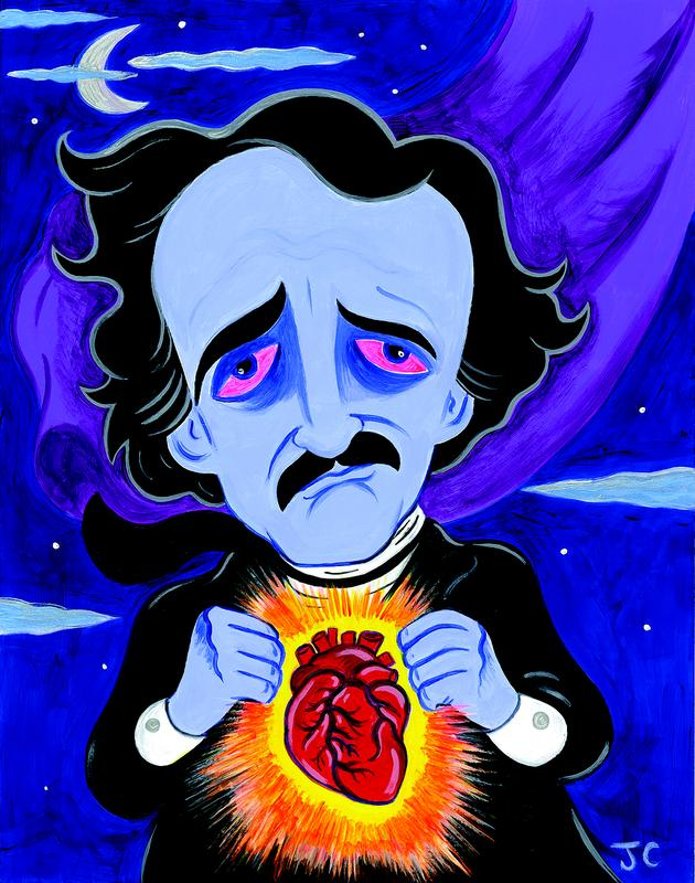 An Early Evening with Edgar Allan Poe