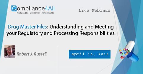 Understanding and Meeting your Regulatory & Processing Responsibilities