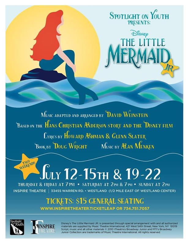 Spotlight on Youth presents Disney, The Little Mermaid Jr.