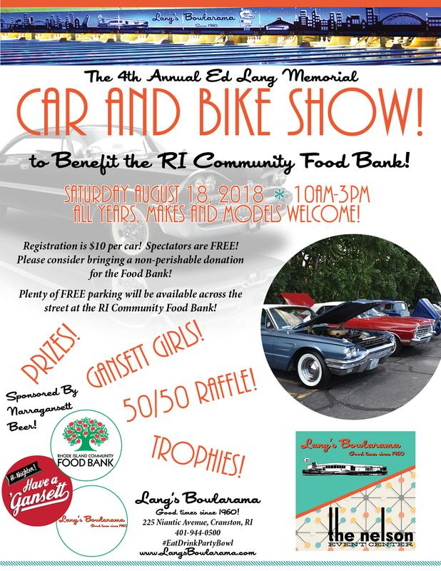 4th Annual Ed Lang Memorial Car Show