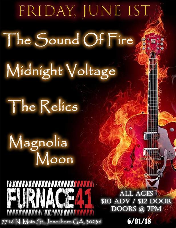 June 1st @ Furnace 41