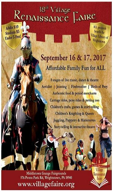18th Village Renaissance Faire- A Faire for a Cause