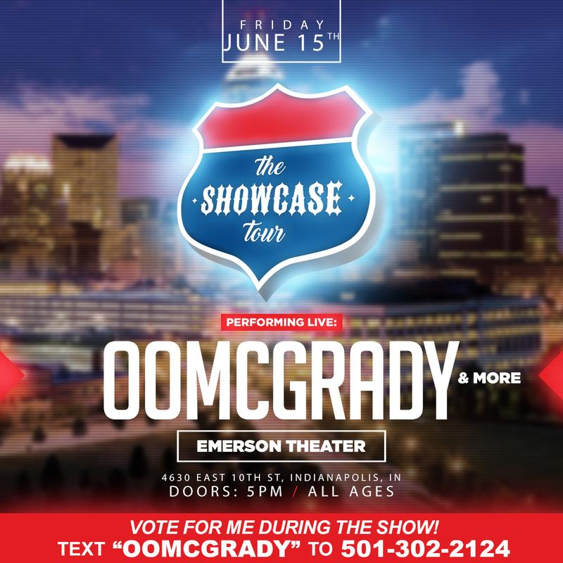ooMcGrady Showcase Tour Live Performance