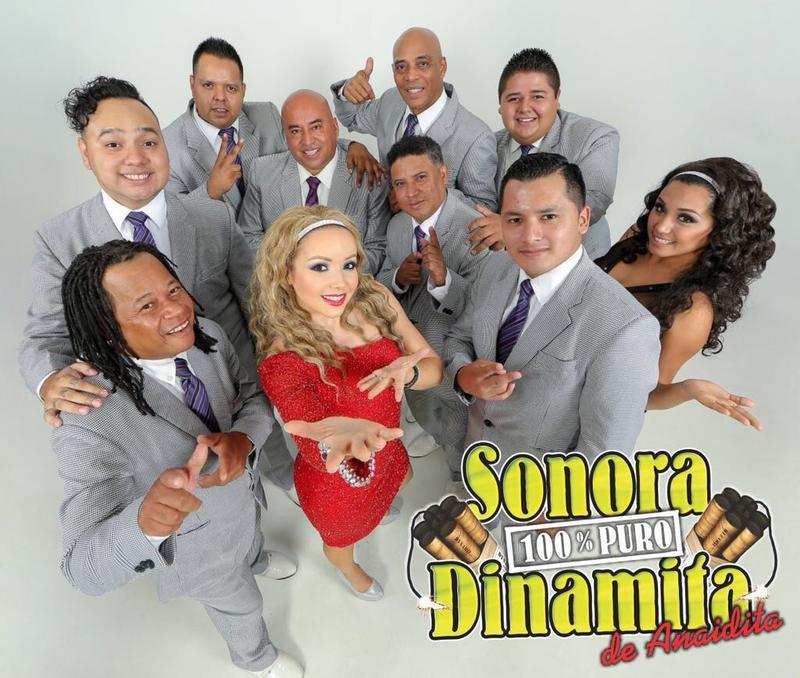 Valentine's Day con La Sonora 100% Puro Dinamita de Anaidita
