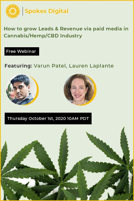 How to Grow Leads & Revenue via Paid Media in Cannabis/Hemp/CBD Industries