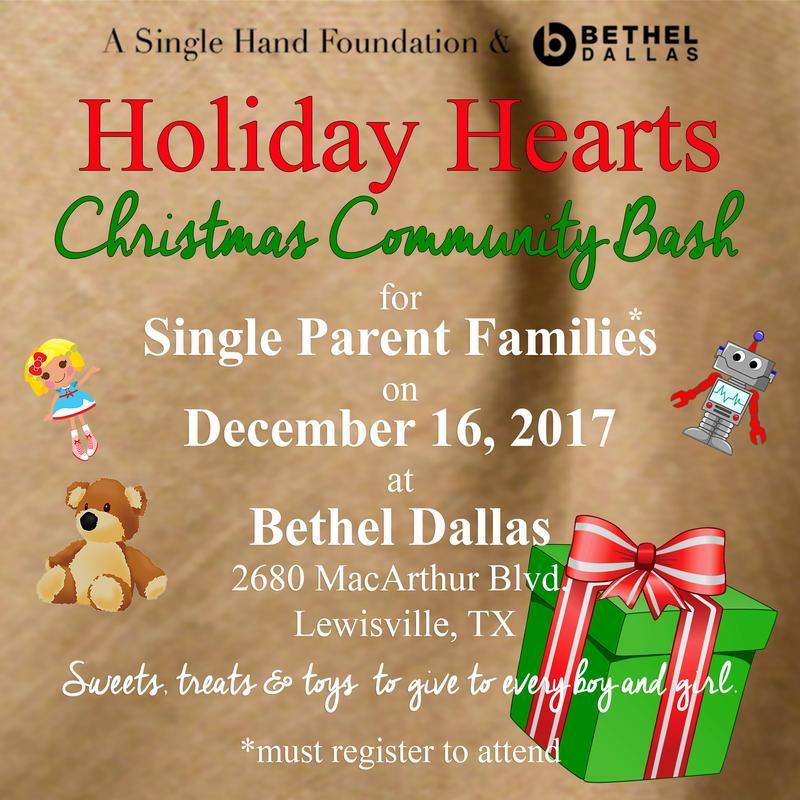 ASHF and Bethel's Holiday Hearts Christmas Community Bash