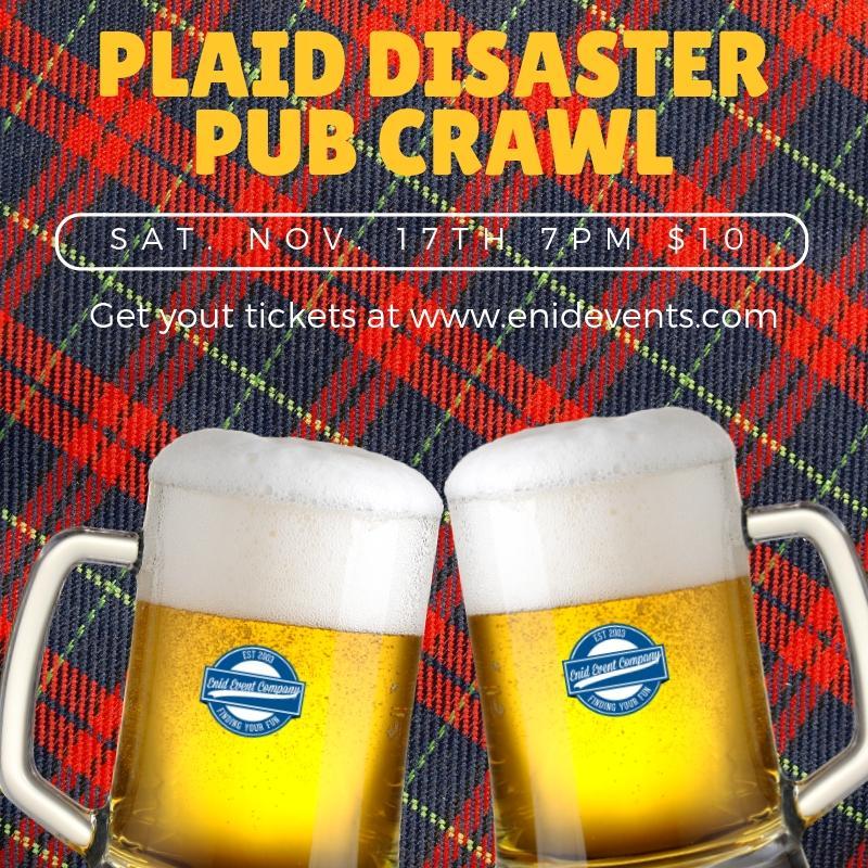 Plaid Disaster Pub Crawl