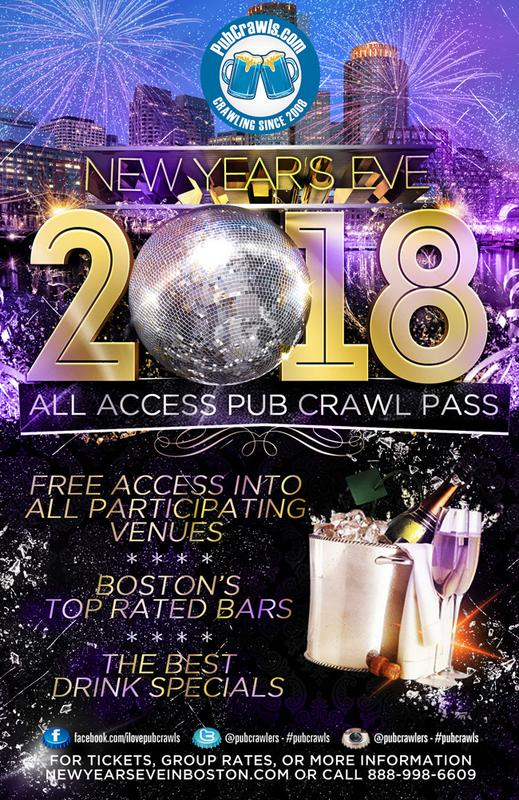 New Year's Eve All Access Pass Boston 2018