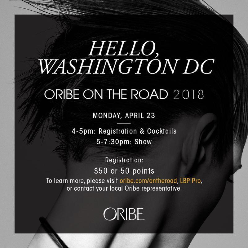 Oribe On The Road: Washington DC