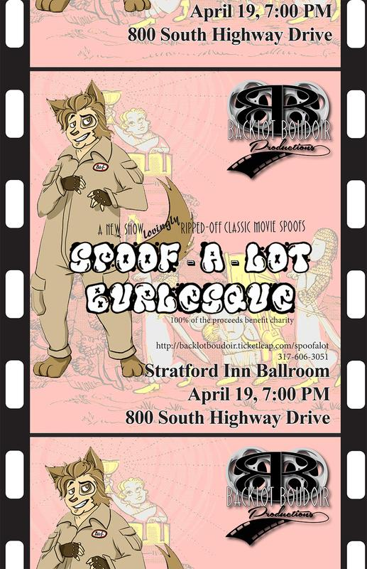 """Spoof-A-Lot Burlesque"" A Backlot Boudoir Productions Event!"