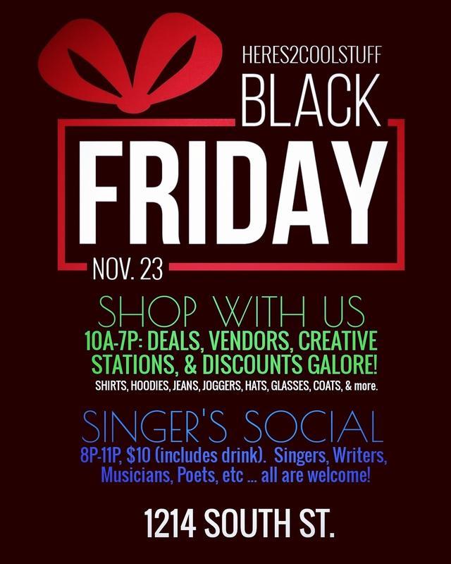 Singers Social - Black Friday