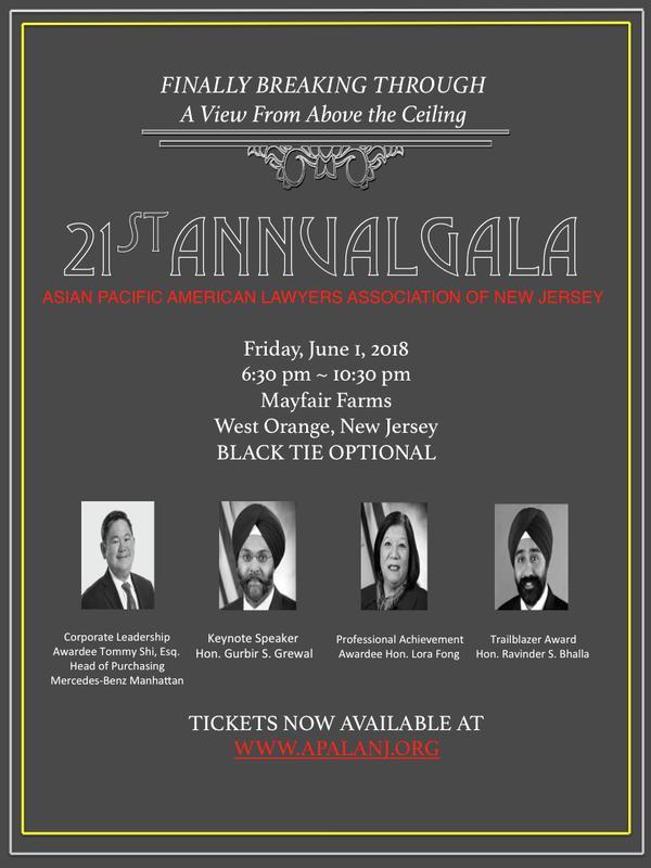APALA-NJ 21st Annual Gala