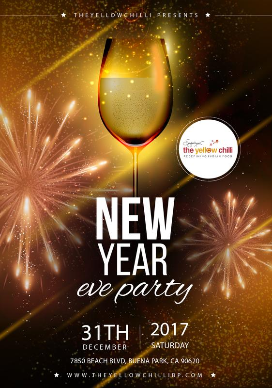 THE YELLOW CHILLI - NEW YEAR EVE PARTY