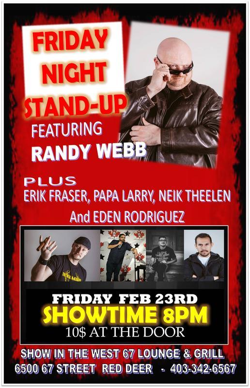 Friday Night Stand Up presents Randy Webb
