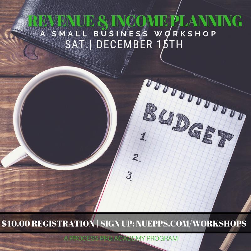 Revenue & Income Planning Workshop