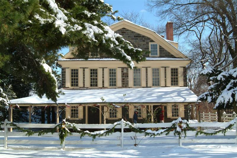 """""""December Drop Ins"""" at the Historic Houses of Fairmount Park"""