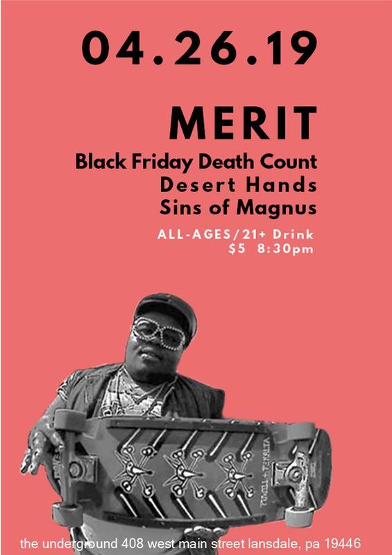 MERIT // BFDC // Desert Hands // Sins of Magnus