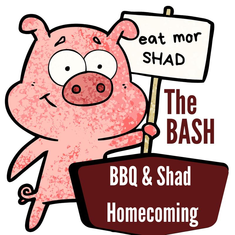 2020 B.A.S.H. BBQ and Shad Homecoming