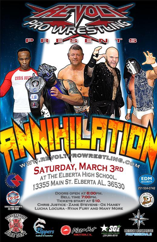 Revolt Pro Wrestling Annihilation