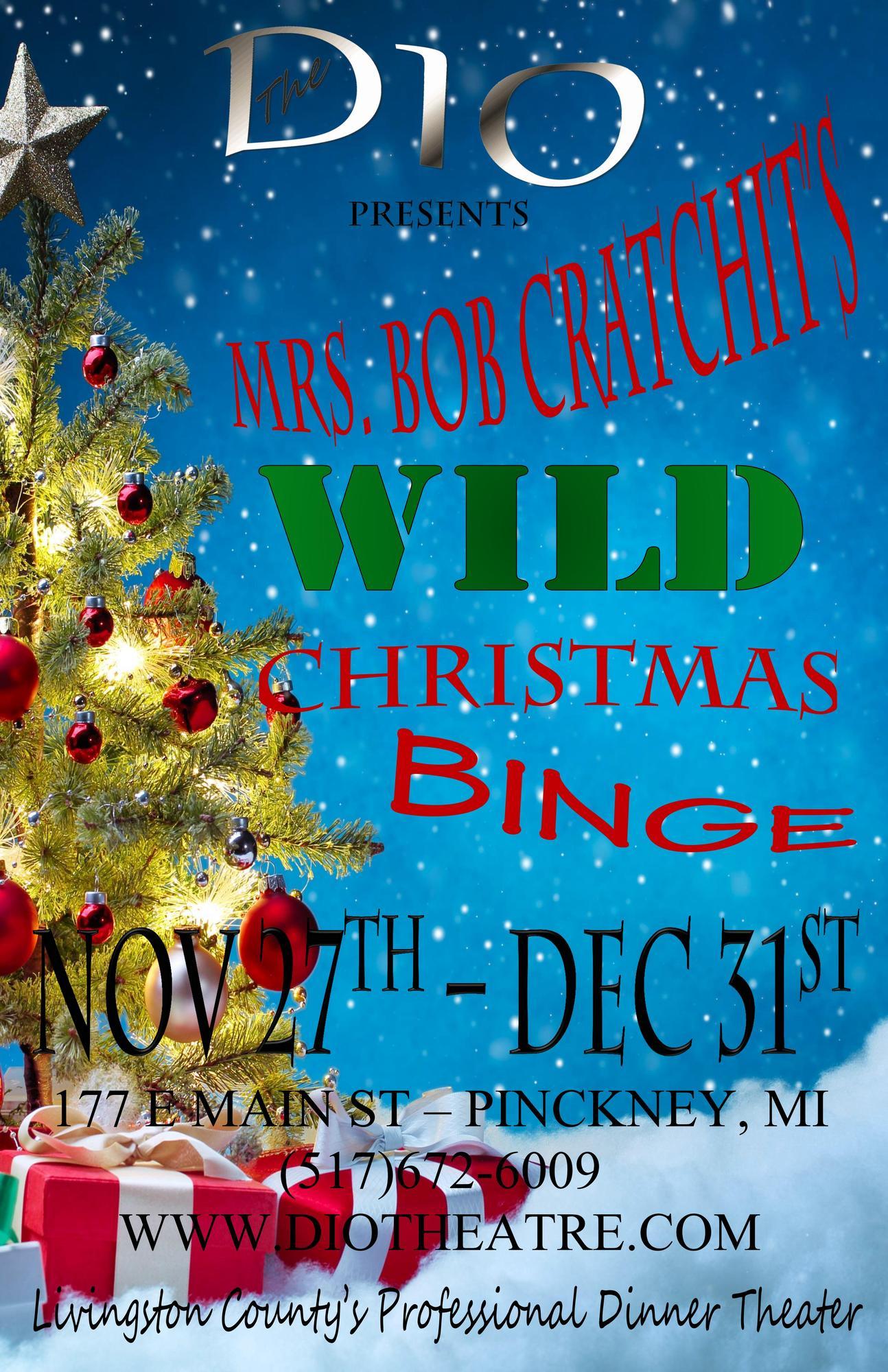 Mrs Bob Cratchits Wild Christmas Binge Tickets In Pinckney Mi