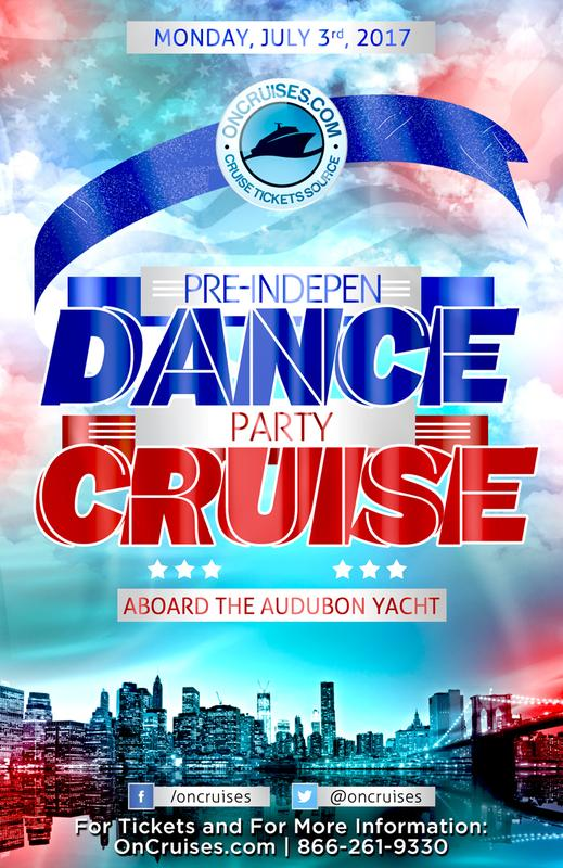 Pre-IndepenDANCE Party Cruise Aboard the Audubon Yacht