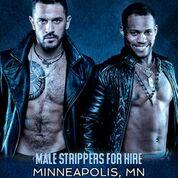 Hire a Male Stripper Minneapolis, MN - Private Party Male Strippers for Hire Multiple Events