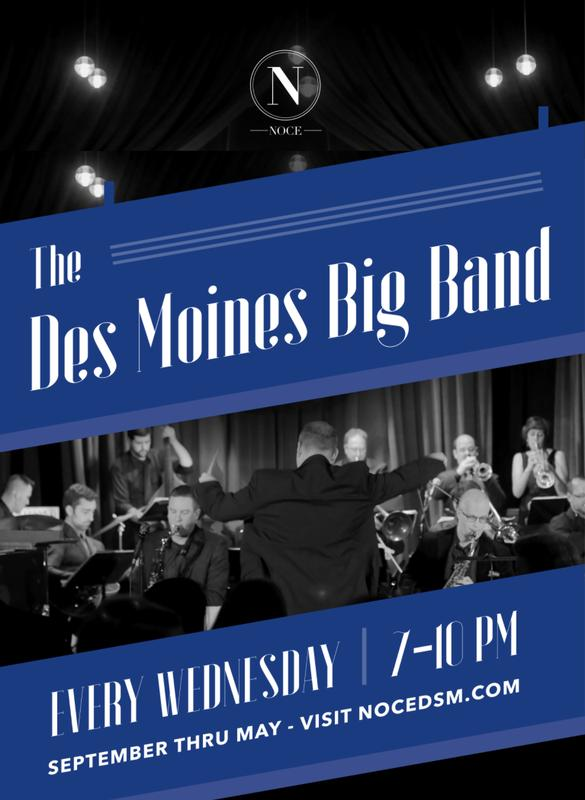 The Des Moines Big Band Plays Ellington