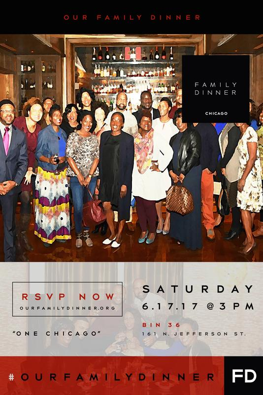 """Our Family Dinner Chicago 