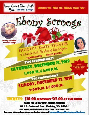 Ebony Scrooge