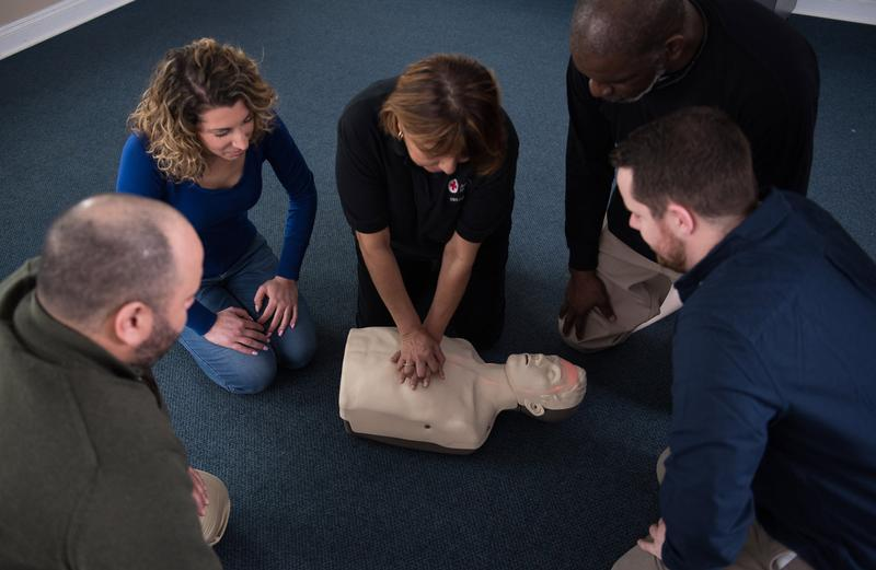 American Red Cross - Adult and Pediatric CPR / AED (Blended Online + Classroom)
